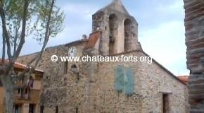 66-Llauro : Eglise fortifiée de Llauro