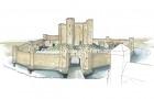 UK-Wisbech : Château de Wisbech